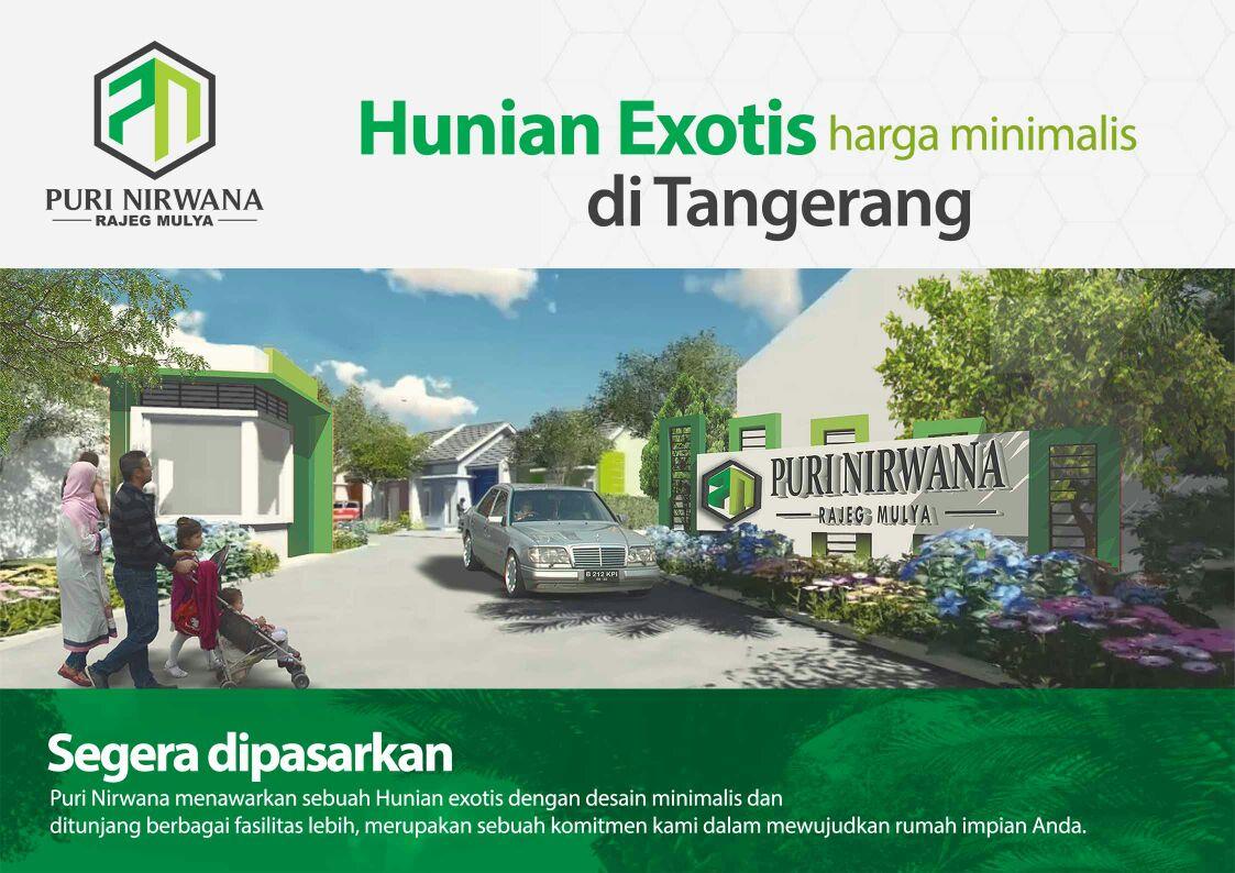 Rumah Subsidi di  Puri Nirwana Rajeg Mulya Tangerang