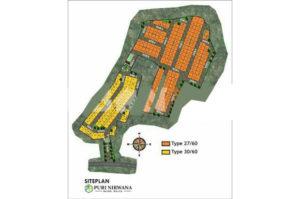 Puri Nirwana siteplan 300x199 - Puri Nirwana siteplan