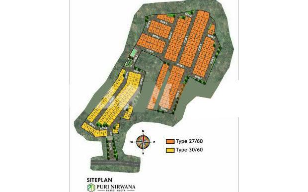 Puri Nirwana siteplan