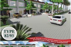 Mulya Odysa 1 244x163 - Rumah 2 Lantai di Mulya Odysa Cikupa Tangerang