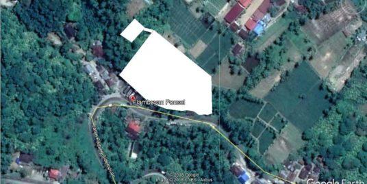 Tanah 7000 m2 di Jalan Raya Padang Sidempuan,Sumatera Utara