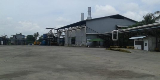 Bangunan Pabrik dan mesin eks PT. Wira Paper di Tangerang