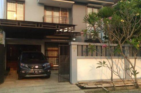 Muka Komplek Deplu 492x324 - Rumah 2 lantai di Komplek Deplu Larangan Kota Tangerang
