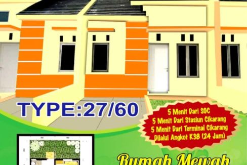 Tian Persada 1 488x326 - Rumah Subsidi Tian Persada 1 di Cikarang Bekasi