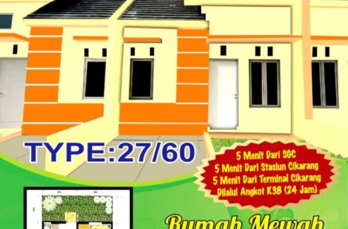Tian Persada 1 492x324 - Rumah Subsidi Tian Persada 1 di Cikarang Bekasi