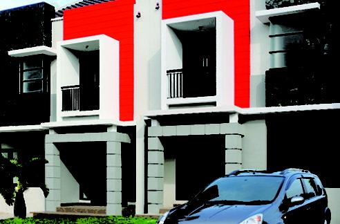 Tampak Muka Tipe Caress 492x324 - Rumah cantik full furnished di Raffles Hills Cibubur
